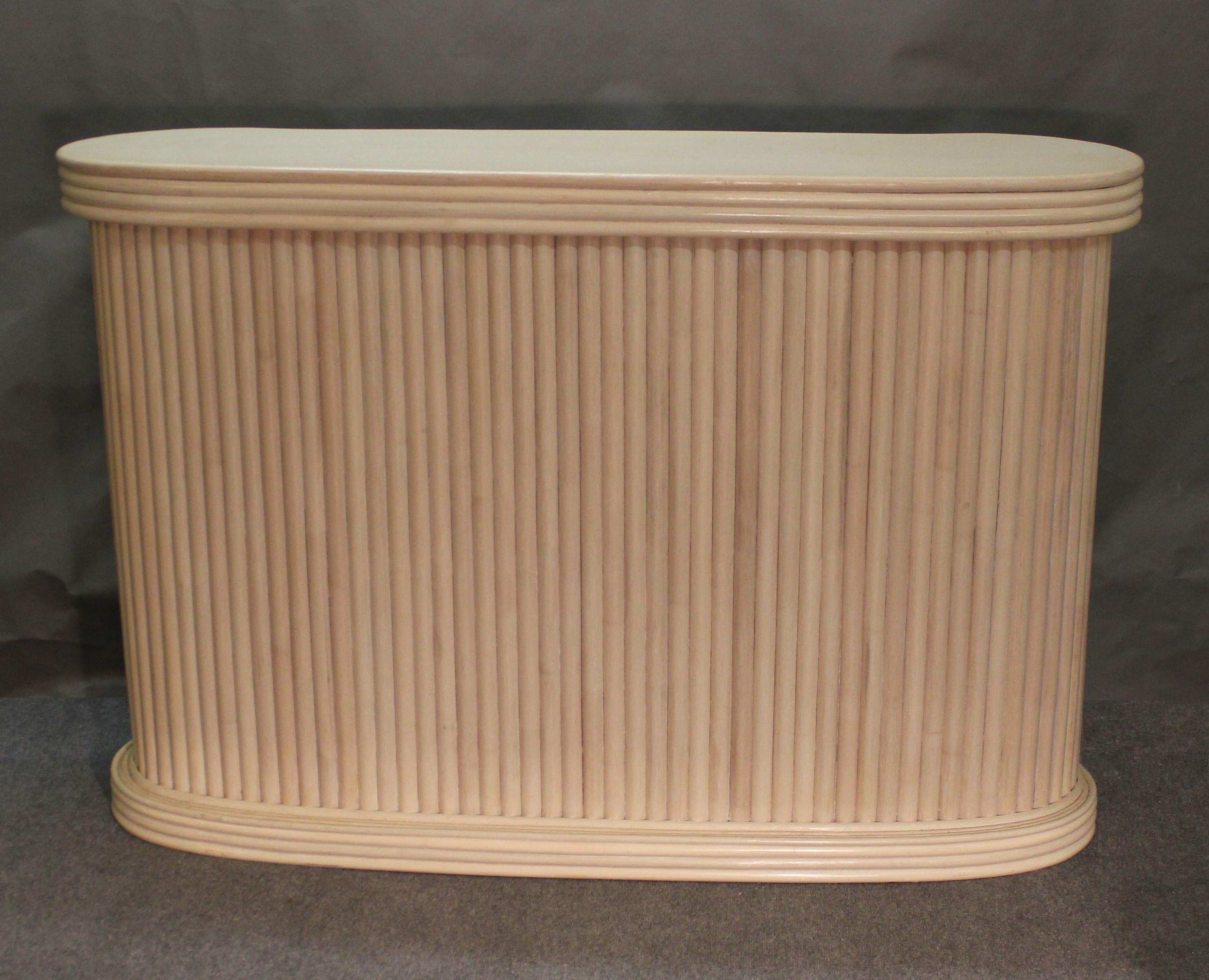 Rattan Bar Whitewash